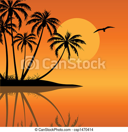 isla tropical - csp1470414