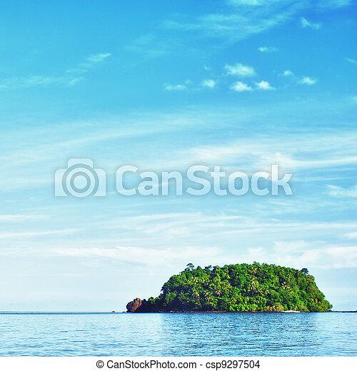 isla tropical - csp9297504