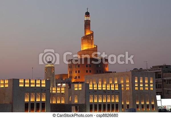 Islamic Cultural Center Fanar in Doha, Qatar - csp8826680