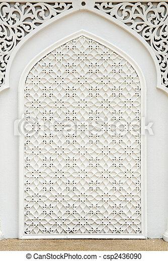 Islamic design. - csp2436090
