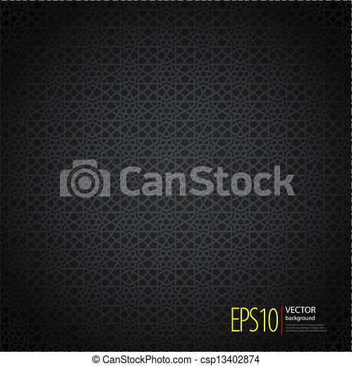 islamic, seamless, fundo - csp13402874