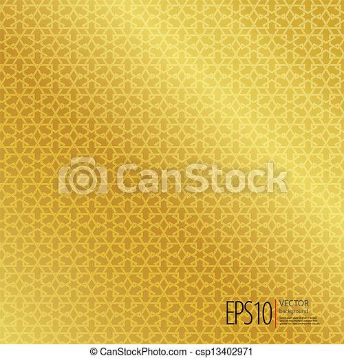 islamic, seamless, fundo - csp13402971