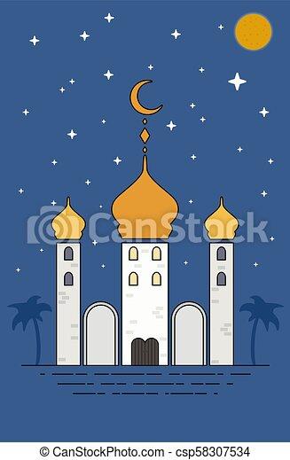 Islamic sheikh grand mosque eid mubarak greetings ramadan kareem islamic sheikh grand mosque eid mubarak greetings ramadan kareem vector illustration m4hsunfo
