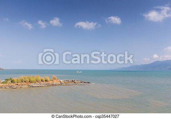 Island and sea. Summer background. Thailand - csp35447027