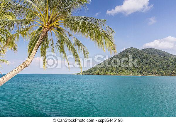 Island and sea. Summer background. Thailand - csp35445198