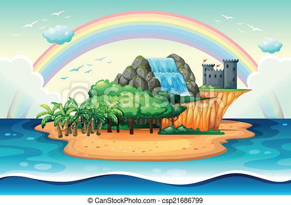 Island - csp21686799