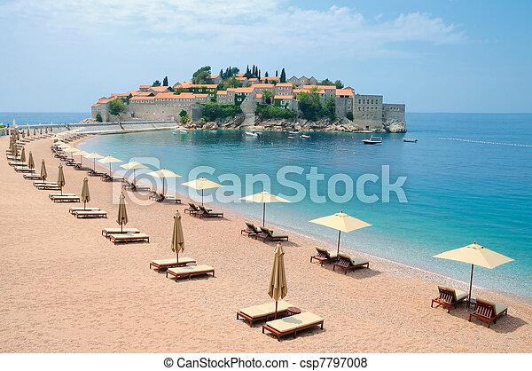 Island in Mediterranean  - csp7797008