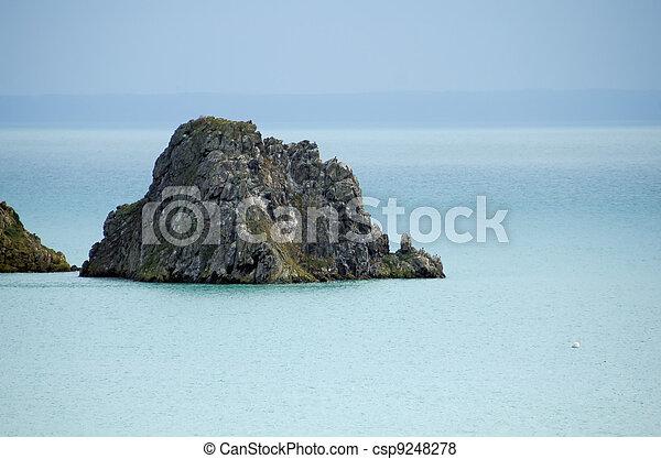 Island in the Sea - csp9248278