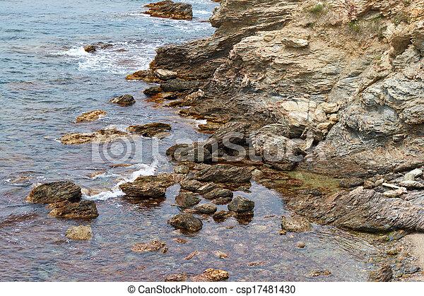island in the sea - csp17481430