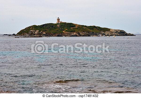 island in the sea - csp17481432