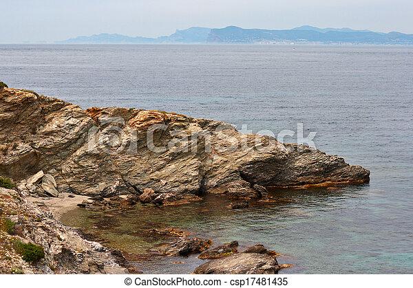 island in the sea - csp17481435