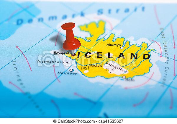 Island Reykjavik Karta Karta Skola Reykjavik Fargrik Effect