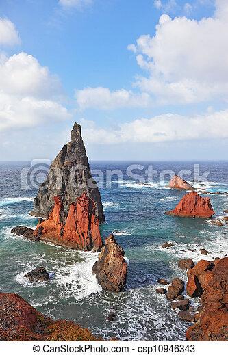 islands., カラフルである, 絵のよう - csp10946343