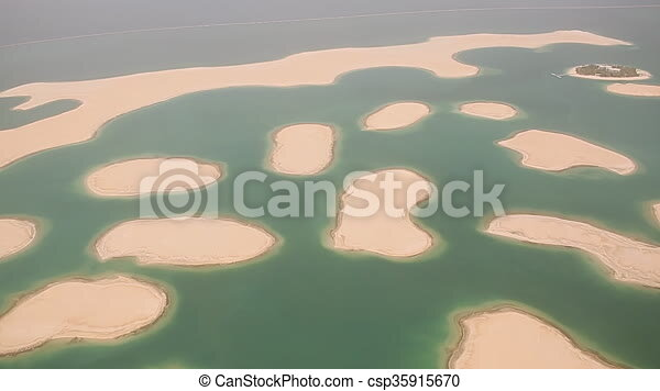 Islands in the dubai on the world map aerial view gumiabroncs Gallery