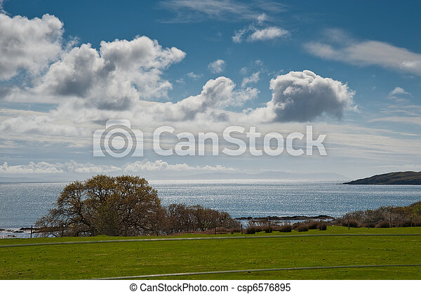 Islay landscape - csp6576895