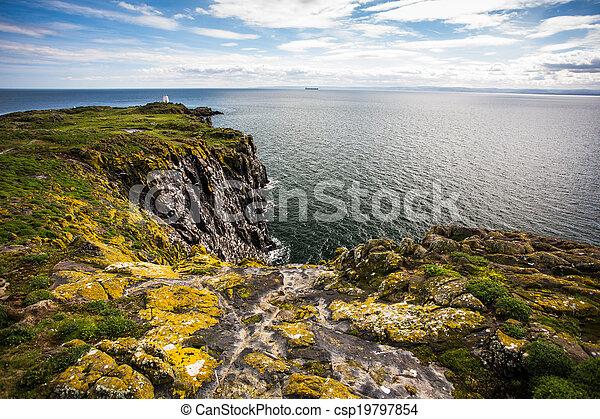 Isle of May, Scotland - csp19797854