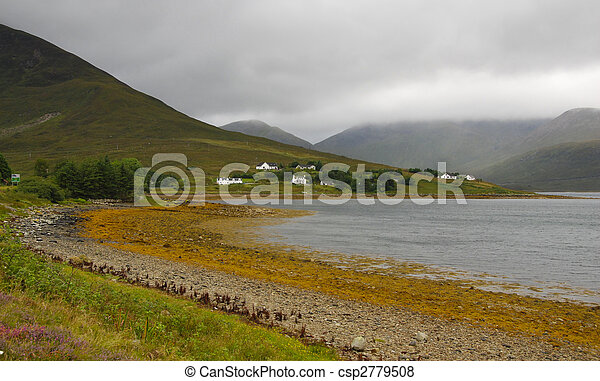 Isle of Skye Landscape in Scotland - csp2779508