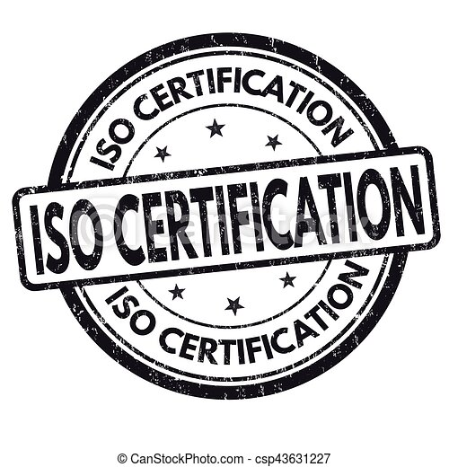 ISO Certification Sign Or Stamp