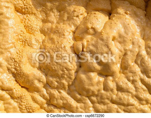 isolação, close-up, pulverizado, pu-foam - csp6672290
