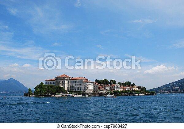Isola Bella, Lake Maggiore - csp7983427