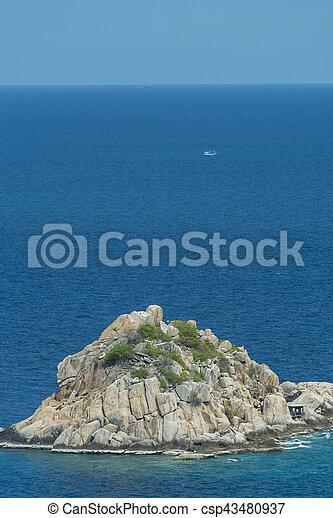 isola tropicale - csp43480937