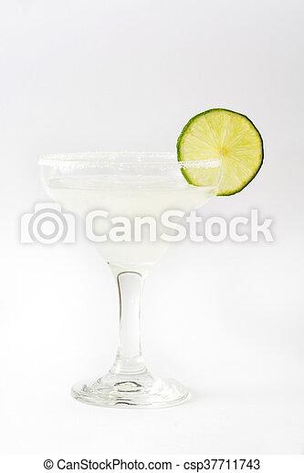 isolado, coquetel, margarita - csp37711743