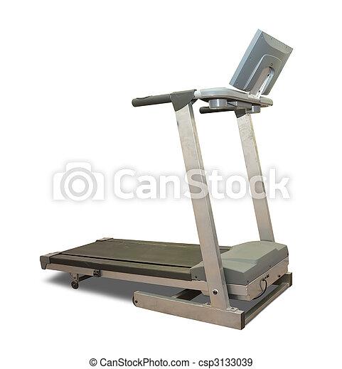 isolado, treadmill - csp3133039