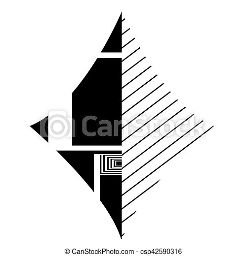 Isolated Abstract Symbol Isolated Black Diamond Card Symbol Vector