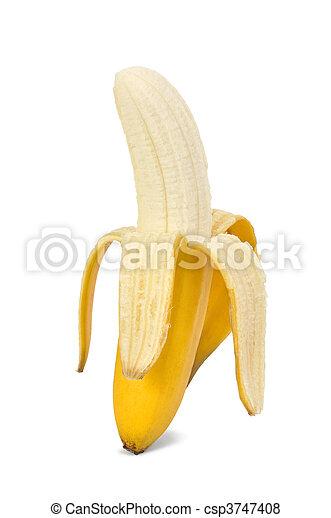 Isolated Banana - csp3747408