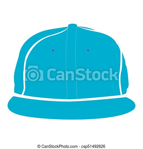 isolated baseball hat isolated silhouette of a baseball hat vector rh canstockphoto com black baseball hat vector baseball hat vector template