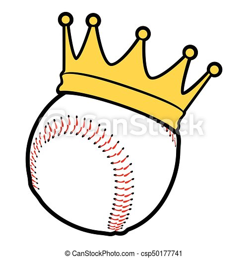 isolated baseball icon isolated baseball ball with a crown eps rh canstockphoto com baseball player hitting ball clipart baseball player hitting ball clipart