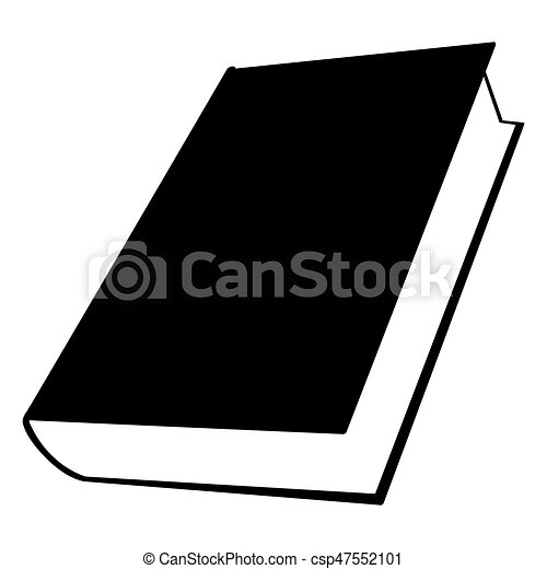 isolated book silhouette isolated silhouette of a book