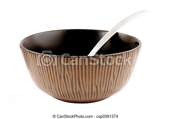 Isolated Bowl - csp0391374