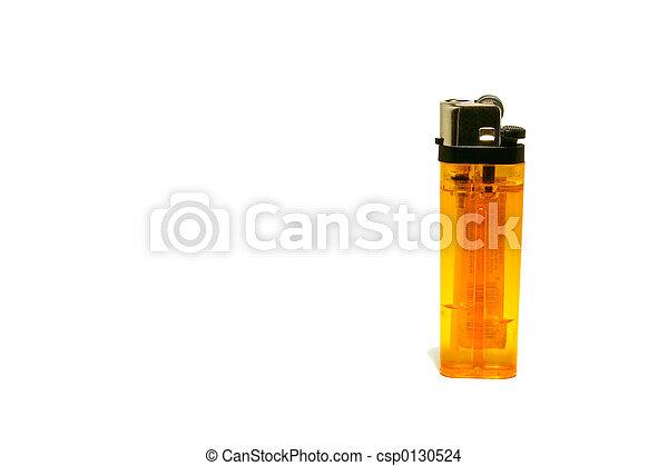 Isolated Cigarette Lighter - csp0130524