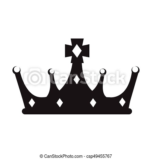 isolated crown silhouette isolated silhouette of a crown clip rh canstockphoto co uk crown vector artwork princess crown vector art