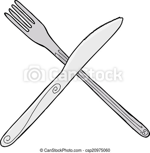 isolated knife and fork isolated cartoon knife and fork clip art rh canstockphoto ca clip art fork clipart for kids swimming