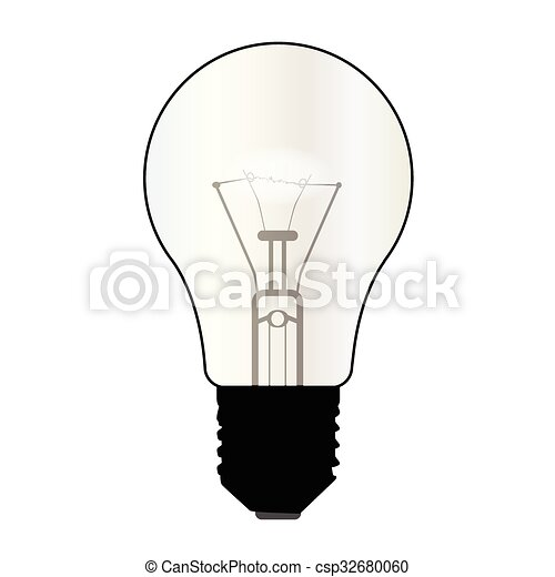 Isolated Light Bulb   Csp32680060