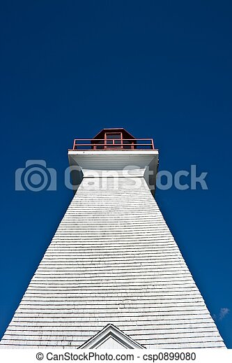 Isolated Lighthouse - csp0899080