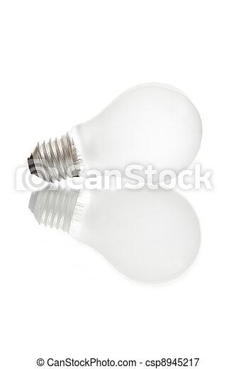 Isolated mate light bulb - csp8945217