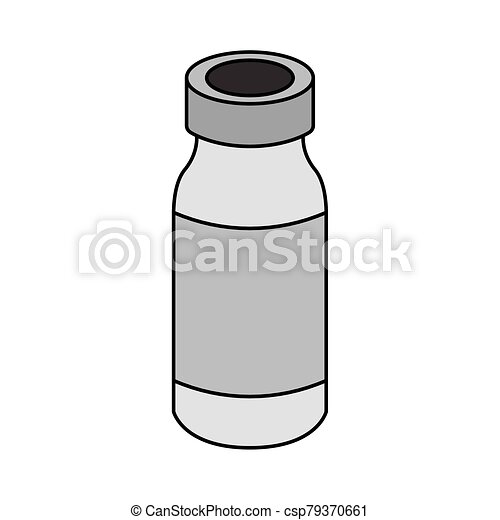 Isolated Medical Ampoule Icon Medical Icon Vector