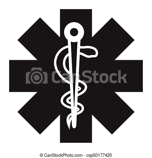 Isolated Medical Symbol On A White Background Vector Vector