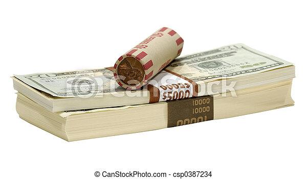 Isolated Money - csp0387234