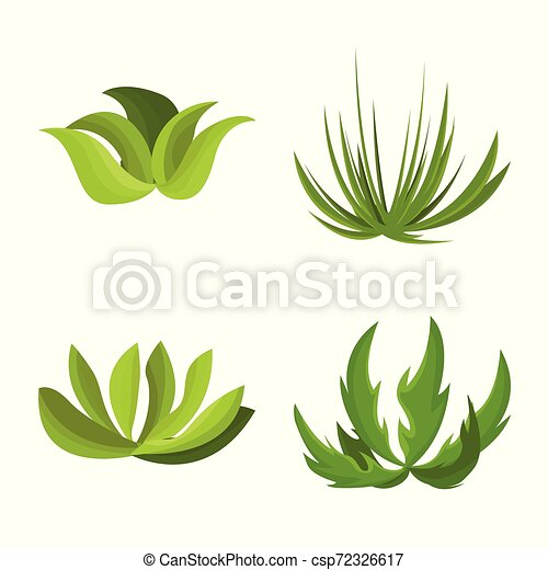 Isolated Object Of Garden And Grass Icon Collection Of Garden And