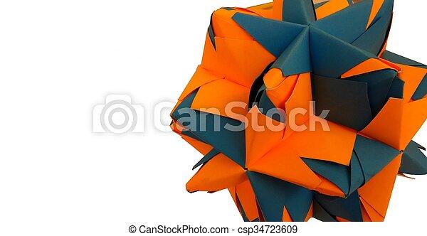 I Created Hundreds Of Intricate Modular Origami Balls   Modular ...   254x450