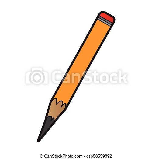 Isolated pencil icon - csp50559892