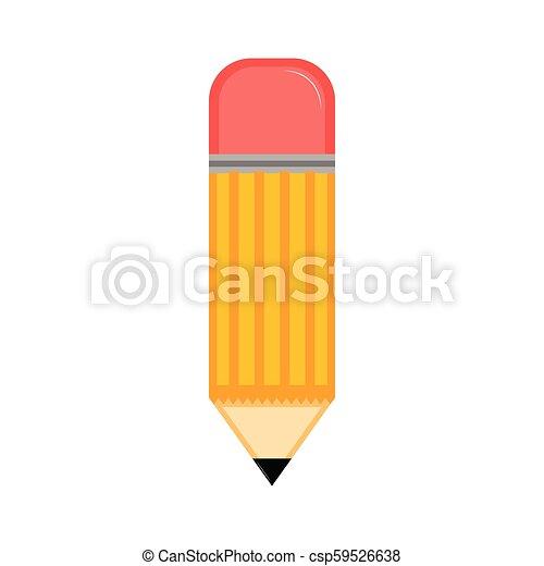 Isolated pencil icon - csp59526638