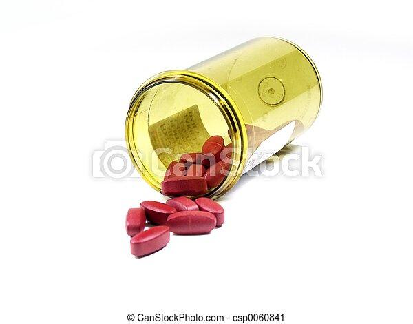 isolated pills - csp0060841