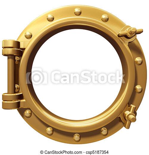 Isolated porthole - csp5187354