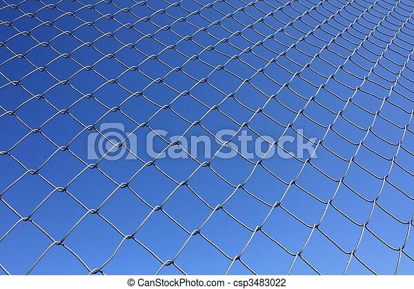 Isolated Rabitz wire netting - csp3483022