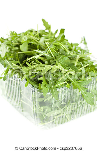Isolated Rucola Leaves - csp3287656